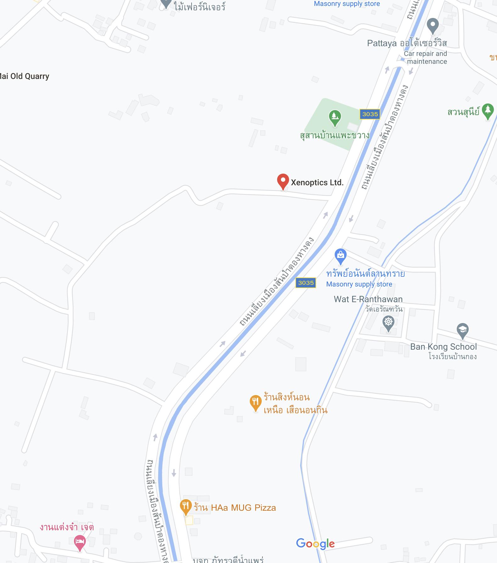 XENOptics map